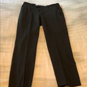 Men's Hugo Boss dress slacks black size35R